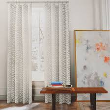 Kitchen Window Curtain Panels Amazoncom Tommy Hilfiger Window Treatments Home Daccor Home