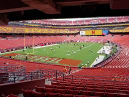 Fedex Field Seating Chart View Fedexfield Section 229 Rateyourseats Com