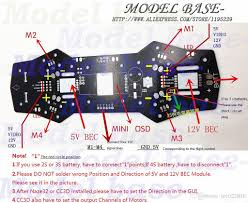 2017 qav250 zmr250 naze32 cc3d apm pdb power distribution board 1 x qav250 quadcopter power distribution board