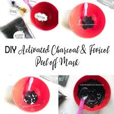 diy activated charcoal fevicol l
