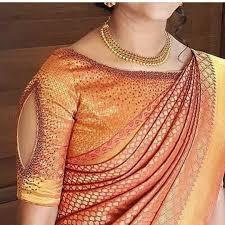 Latest Design Kanjivaram Sarees Kanjivaram Saree Blouse Designs 17 Keep Me Stylish
