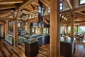 rustic kitchen floor plans