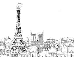 Paris Coloring Maps Travel Places Etc Pinterest Coloriage