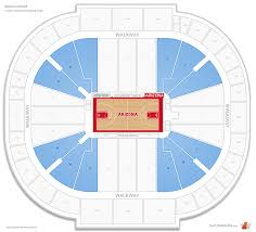 Kino Sports Complex Seating Chart Mckale Center Arizona Seating Guide Rateyourseats Com