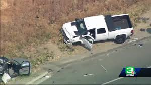 Man Arrested In I 80 Crash That Killed Chp Officer Another Sriver