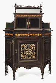 choose victorian furniture. An Aesthetic Movement Inlaid, Parcel-gilt And Part-ebonized Cherrywood Maple Cabinet Choose Victorian Furniture O