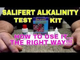 Salifert Alkalinity Test Kit How To Use It The Right Way