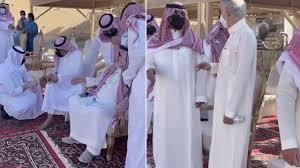 """شاهد .. الوليد بن طلال يحضر جنازة والدة أبنائه """"الأميرة دلال بنت سعود"""" -  صحيفة صدى الالكترونية"""