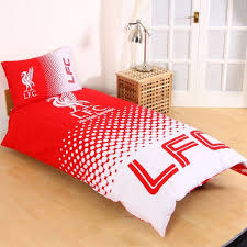 personalised liverpool footbal club single duvet cover with pillow intended for prepare 6