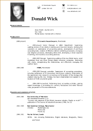 Examples Of Resumes Free Samples Cv Template Builder Ajnuupn