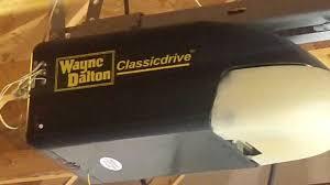 garage door opener troubleshootingA Wayne Dalton Classic Garage Door Opener AuroraIL PIECE OF JUNK