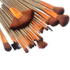 2016 hot new makeup brushes 3 24 piece professional brush sets gold package