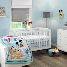 Mickey Mouse Bedroom Decor Mickey Mouse Lets Go Mickey 3 Piece Crib Set Disney Baby