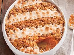 sweet potato casserole recipe with marshmallows and pecans. Wonderful Potato Cornflake Pecan And MarshmallowTopped Sweet Potato Casserole To Recipe With Marshmallows And Pecans A