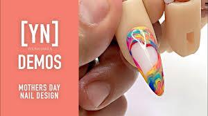Mother S Day Nail Designs Young Nails Nail Demo Mothers Day Nail Design Acrylic Gel Nails