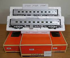 lionel 25731 california zephyr cb q 18 aluminum passenger 2 pack o scale train