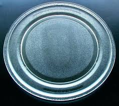 replacement microwave turntable plate tray kitchen aid glass 1 8 how to replace lg motor