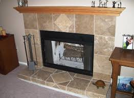 astonishing design fireplace hearth tile ideas with black chair