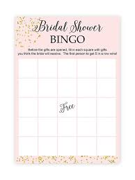 Printable Bridal Shower Gift List Template 10 Printable Bridal Shower Games To Diy