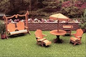 dollhouse outdoor furniture. Dollhouse Patio Furniture Kit Outdoor S