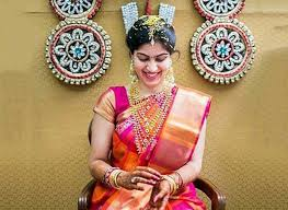 bridal makeup south indian step by at