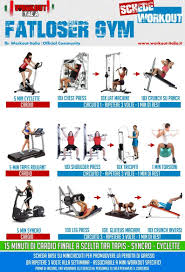 Gym Workout Fatloser Gym Workouts Full Body Weight