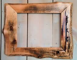 awesome large rustic wood frame diy making s