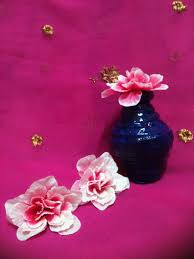 News Paper Flower Vase Newspaper Flower Vase Aaishascreativedreams