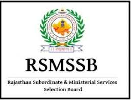 Rsmssb Recruitment 2018 Notification For 178 Ophthalmic Assistant ...