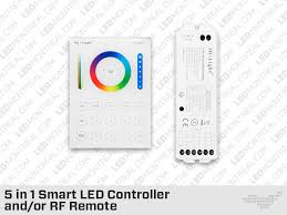 wall mounted rf multi zone panel and or controller for rgb
