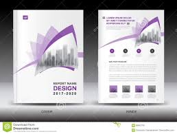 Newspaper Flyer Template Annual Report Brochure Flyer Template Purple Cover Design