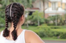 How To Make Two French Braids By Yourself Leaftv