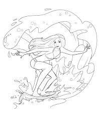 Barbie Mermaid Coloring Pages Mermaids Coloring Pages Barbie Mermaid