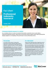 Offering competitive, online, professional indemnity insurance quotations, public liability and general business insurance quotes. Professional Indemnity Insurance In Australia Bizcover