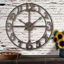 wall clock rustic wall clocks