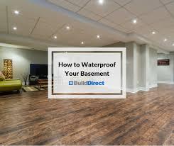 how to waterproof your basement inside