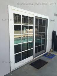 riveting sliding screen glass screen sliding glass patio doors repairs northridge in patio screen door