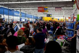 Black Friday 2012 Walmart Sees Some Scuffles But Is Well Organized