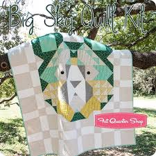 339 best Camping quilts images on Pinterest | Quilt patterns ... & Big Sky Quilt Kit<br/>Featuring Big Sky by ... Adamdwight.com