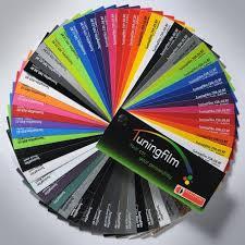 Vinyl Wrap Color Chart Vinyl Wrap Colors Digital Print Media