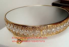 excellent wedding cake stand gold 3