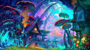 Trippy Mushroom Wallpapers - Top Free ...