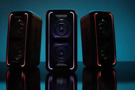 sony extra bass speaker. tech reviews sony gtk xb7 extra bass speaker lights 640x426 a