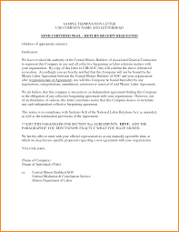 Employment Termination Letter. Free Termination Letter Employee ...