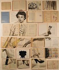 book paintings ekaterina panikanova via colossal artist ekaterina panikanova uses old books and other doents as a canvas for some seriously unbelievable