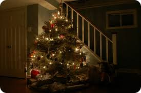 Oh Christmas Tree Home For The Holidays Link Party  Finding At Home Christmas Tree