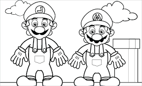 Super Mario Coloring Pages To Print Free Mario Coloring Pages 276