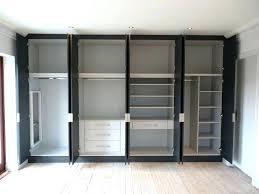 built in closet amazing fresh wall designs home design ideas shelves closets master ins s