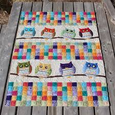 17 Best images about quilts BABY on Pinterest | Quilt, I spy and ... & This is Evelyn's Whoo's Your Baby quilt and the pattern can be found in the  book Jelly Babies by Karen Costello. When she was wo. Adamdwight.com