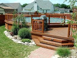 multi level deck designs multi level deck with above ground pool multi level deck design plans